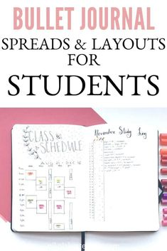 Are you heading back to school in the fall and need some layout and spread inspiration for your bullet journal? College is an incredibly busy time, if you don't make an effort to stay organized then you will be washed up in the ocean. Click to read more.
