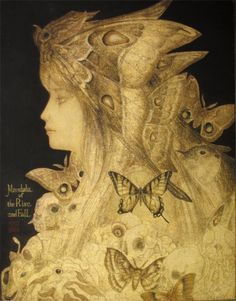 Japanese contemporary art  盛衰曼陀羅 by Masaaki Sasamoto