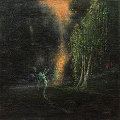 Zrzavý, Zjevení - Zelená víla, 1905.jpg (599×600)