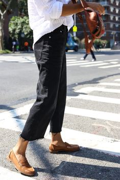 a43ac57225 @waityouneedthis #SperryMyWay Style blogger Janelle Lloyd wears the Seaport  Penny Loafer in tan with