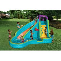 Little Tikes Slam n Curve Inflatable Water Slide  $399.97  =LOVE=