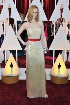 Nicole Kidman in Louis Vuitton and Harry Winston.