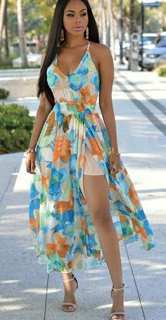 Sexy Women Dresses-Sexy Dresses,Sexy Party Dresses,ClubWear Dresses,Party Dresses For Women Sexy Maxi Dress, Floral Maxi Dress, Chiffon Dress, Sexy Dresses, Bandage Dresses, Floral Chiffon, Zara Dresses, Chic Couture Online, Flare