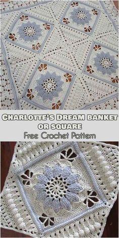 Charlotte Dream Blanket or Square [Free Crochet Pattern]