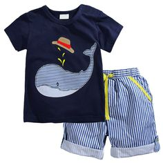 Aqua Boys Play Outfit