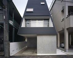 "Let's take it from the top…            via KodiKodi  Who: Ryoichi ""Kodi"" Kojima (architectural design) and Hiroshi Ono (structural design) What: Single family residence Where: Kawasaki City, Kanagawa Prefecture…"