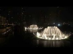 Most expensive water fountain in the world (Dubai