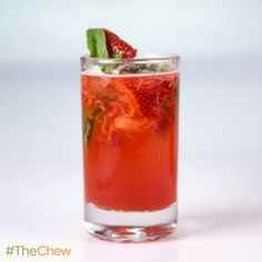 Very Berry Basil Mojito by Clinton Kelly! #TheChew #Cocktail #HappyHour