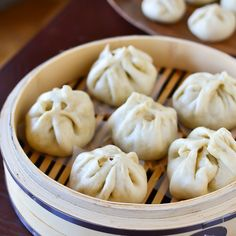 Steamed Pork Buns - perfect for Chinese New Year!