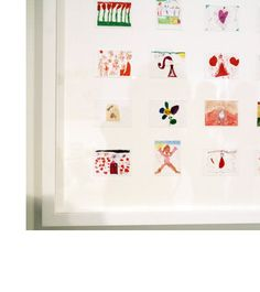 Organize your Children's Art Work suggestions idea is from jan eleni interiors. Found on Pinterest but had to find the ORIGINAL work.  Please always give credit to those that create it...·