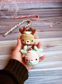 This cute crochet cow amigurumi is super soft and huggable! Create a friendly crochet cow using our step-by-step Cuddle Me Cow Amigurumi Pattern. Christmas Crochet Patterns, Crochet Christmas Ornaments, Holiday Crochet, Christmas Deer, Christmas Crafts, Christmas Morning, Merry Christmas, Christmas Decorations, Amigurumi Free