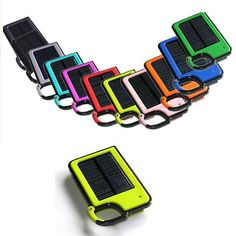 Clip-on and Tag Along Solar Charger For Your Smartphone