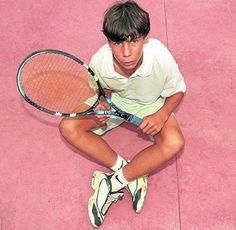 Rafa Nadal kid