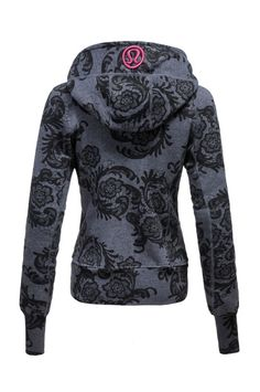 Lululemon scuba hoodie. Omg I love this pattern!!!!! Wish it was still around!