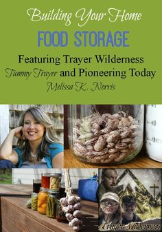 Building your home food storage with healthy real food ingredients should be part of every pioneer and homesteaders plan.