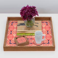 Ballack Art House Broekie Lace Coaster Set | DENY Designs Home Accessories