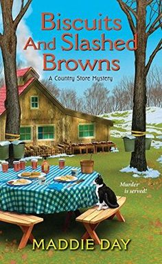 I'm so excited to be a stop on the blog tour for author Maddie Day and her new bookBiscuits and Slashed Browns,Book #4 in her Country Store Mystery series. I have read all of the b…