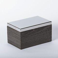 Kiri Paulownia Wood Teabox by Studio Gala