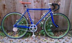 Douglas's Conversion - EighthInch Fixed Gear Bike Contest - http://www.facebook.com/EighthInch