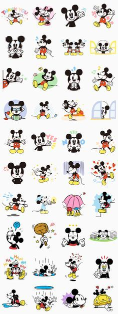 Everyone loves Mickey Mouse, and now he& here on LINE! Whether you& happy or sad, let Mickey express your emotions for you! These are a definite must-see! Wallpaper Do Mickey Mouse, Cute Disney Wallpaper, Wallpaper Iphone Disney, Trendy Wallpaper, Cute Wallpapers, Mickey Mouse E Amigos, Mickey Mouse Stickers, Mickey Mouse And Friends, Mickey Minnie Mouse