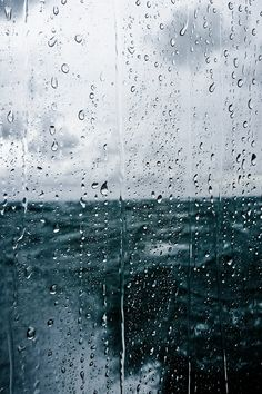 Rain on the high seas