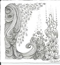 Deep Magic Tangles: My Tangles | zentangle