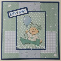 Marianne Design, Baby Makes, Happy Baby, Kind, Quilling, Handmade Cards, Card Ideas, Baby Boy, Tags