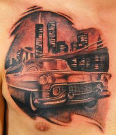 car tat on pinterest car tattoos truck tattoo and hot rod cars. Black Bedroom Furniture Sets. Home Design Ideas