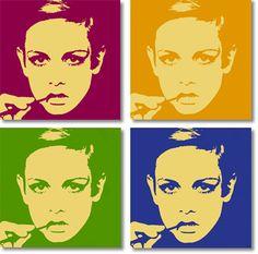 twiggy pop art