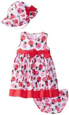 Nannette Baby-Girls Infant 3 Piece Ladybug Dress Set, Optic White, 24 Months Nannette http://www.amazon.com/dp/B00J8L2SXE/ref=cm_sw_r_pi_dp_cWsLtb19YK0N00K3