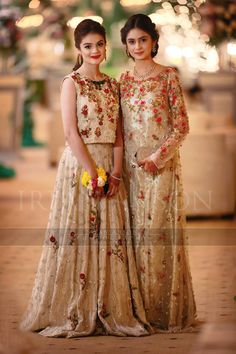 Sania Maskatiya Wedding Formal Wear Fine Art Weddings by Irfan Ahson - Pak couture Pakistani Wedding Outfits, Pakistani Dresses, Indian Dresses, Wedding Dresses For Girls, Party Wear Dresses, Girls Dresses, Bridesmaid Dresses, Pakistani Couture, Pakistani Dress Design