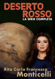 """Nuova copertina per la raccolta di """"Deserto rosso"""". #DesertoRosso #Marte"""