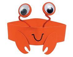 faschingmasken-basteln-krebs-rot-lustig-orange-wackelaugen-kopf