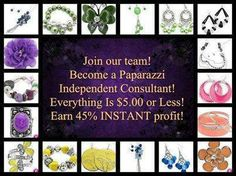 Work from home selling affordable yet trendy $5 jewelry & accessories! You can join for only $40! No kit purchase or home parties required! Training provided! No exp. needed!!