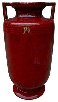 Large Asian Urn or Umbrella Holder | Large Asian Vase