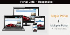 Buy Portal CMS PHP Script by leopedia_n on CodeCanyon. It is a content management system designed to help small businesses around the world create professional looking por. Change Logo, Joomla Templates, Cool Themes, Professional Website, Website Themes, User Interface, Php, The Help, Portal