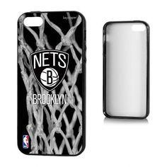 Brooklyn Nets Net Design Apple iPhone 5/5S Bumper Case by Keyscaper