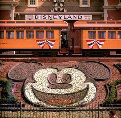 Túnel do tempo: confira como era a Disneylândia quando ela foi inaugurada