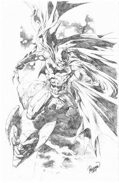 Batman by Carlo Pagulayan! (DC comics)