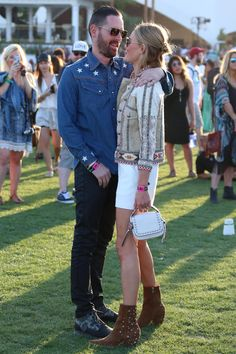 Kate Bosworth y Michael Polish. Coachella 2015 | Vanity Fair