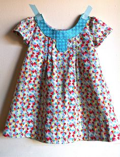A favorite Oliver +S pattern!  So cute in this print (in stock now!)