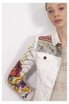 Chaqueta Exotic White ¡Descubre la colección primavera-verano 2017!