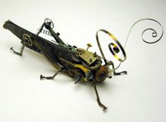 Steampunk Insects by Insect Lab. Found on http://www.insectlabstudio.com/