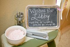 Baby Milano::: I want a Wish Mobile at our Backyard BBQ Baby Shower Hostess with the Mostess® - Backyard Barbeque Baby Shower Baby Shower Wishes, Wishes For Baby, Baby Boy Shower, Bbq Party, Host A Party, Backyard Baby Showers, Japanese Party, Backyard Barbeque, Baby Bash
