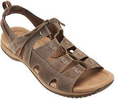 36d36c6af5e88 Earth Origins Suede Lace-up Sport Sandals - Sassy Origins