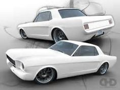 Image result for Pro Touring 66 Mustang Coupe