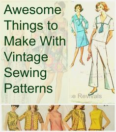 House Revivals: Cool Things to Make With Vintage Sewing Patterns