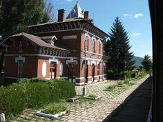 Dofteana Bacău Hm. (501)-Station train - Romania