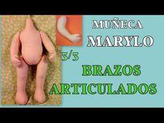 nueva muñeca Marylo , brazos articulados , 3/3 manualilolis video- 252