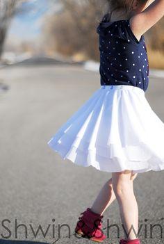 109 Besten Mädchen Röcke Freebooks Nähen Bilder Auf Pinterest